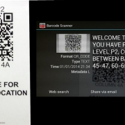 QR Codes Help You Remember Where You Parked